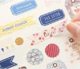 Noted stickers vellum paper labels