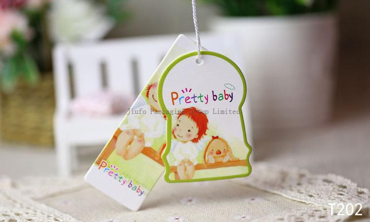 Baby Clothing Hang Tags Product Center Jiufo Packaging