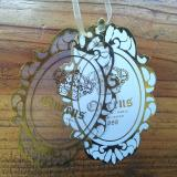 PVC & Paper Hang Tag with Gold Stamp